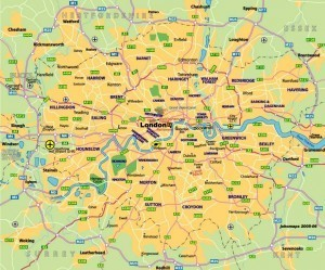 London Covered Areas