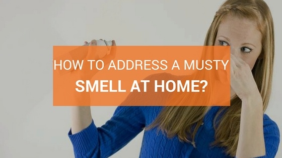 How To Address A Strong Musty Smell At Home