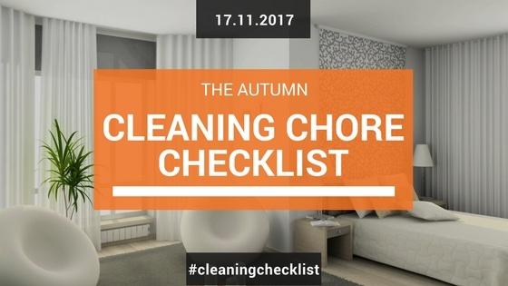 Autumn Cleaning Checklist