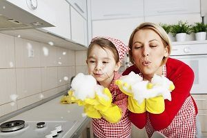 The secrets to cleaning with your children