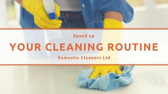 Speed Up Cleaning Routine
