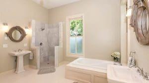 Bathroom Standing Shower Bathtub Sink